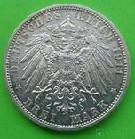 3 марки, Шамбург-Липпе. 1911 год., фото №7