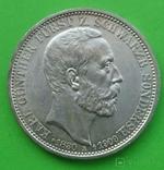 3 марки, Шварцбург-Зондерхаус, 1909 год., фото №2