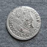Трояк 1623 года. Сиг. ІІІ Ваза ( SIGIS ... POLO )., фото №2