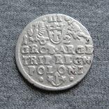 Трояк 1623 года. Сиг. ІІІ Ваза ( SIGIS ... POLO )., фото №6