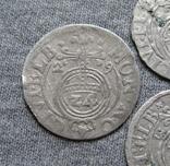 1/24 талера 1600-х годов. Густав Адольф. Эльбинг ( 4 штуки )., фото №4