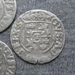 1/24 талера 1600-х годов. Густав Адольф. Эльбинг ( 4 штуки )., фото №13