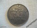 Швеция 2 эре 1943 г, фото №2