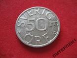 Швеция 50 эре 1983 U, фото №2