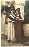 Окрытка Честь 1915 год Первая мировая война Франция, фото №2
