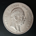 5 марок 1904 р. Саксонія. Георг, фото №3