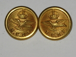 Пуговицы Королевские ВВС Канады RCAF Royal Canadian Air Force RCAF, фото №2