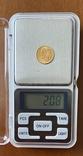 2,5 песо. 1945. Мексика (золото 900, вес 2,08 г), фото №9