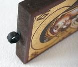 Дорожная маленькая икона Божьей матери с младенцем, фото №5