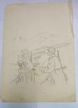 Рисунки карандашом СССР., фото №5
