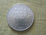 """Швеция 5 крон 1959 """"150 лет Конституции"""", фото №2"""