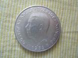 """Швеция 5 крон 1959 """"150 лет Конституции"""", фото №5"""
