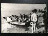 1963 Одесса В лагере университета Лодка Рыбаки, фото №2