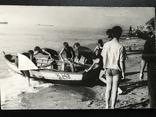 1963 Одесса В лагере университета Лодка Рыбаки, фото №6