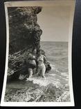 1959 Одесса Девушки в купальниках Камни, фото №2