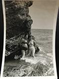 1959 Одесса Девушки в купальниках Камни, фото №6