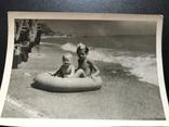 1956 Одесса Берег Дети с кругом, фото №3