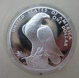 США 1 доллар XXIII летние Олимпийские Игры, Лос-Анджелес 1984, фото №2