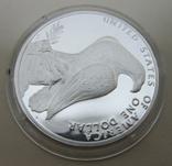 США 1 доллар XXIII летние Олимпийские Игры, Лос-Анджелес 1984, фото №4