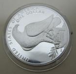 США 1 доллар XXIII летние Олимпийские Игры, Лос-Анджелес 1984, фото №6