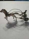 Серебряная колесница жокей, фото №2