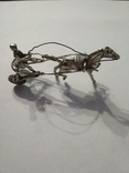 Серебряная колесница жокей, фото №7