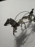 Серебряная колесница жокей, фото №9