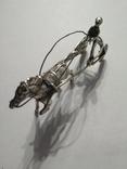 Серебряная колесница жокей, фото №11