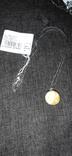 Янтарь шар.серебро, фото №2