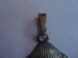 """Ракушка"" кулон серебро 916 проба звезда., фото №3"