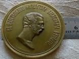 Медаль 1862 року -1000 річчя . Росія - шикарна бронзова копія, фото №4
