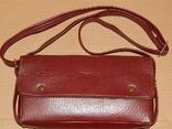 Винтажная сумка СССР для переноски и хранения 6 кассет, фото №2