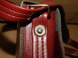 Винтажная сумка СССР для переноски и хранения 6 кассет, фото №4