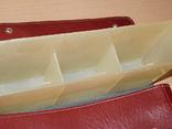 Винтажная сумка СССР для переноски и хранения 6 кассет, фото №8