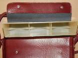 Винтажная сумка СССР для переноски и хранения 6 кассет, фото №10