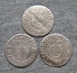 1/24 талера 1623 года. Густав Адольф. Рига ( 3 штуки )., фото №2