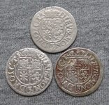 1/24 талера 1600-х годов. Георг Вильгельм. Пруссия ( 3 штуки )., фото №3