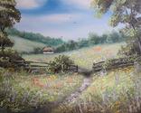 Картина, Фарби літа, 50х40 см. Живопис на полотні, фото №3