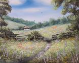Картина, Фарби літа, 50х40 см. Живопис на полотні, фото №5