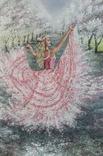 Картина, Танок Весни, 60х40 см. Живопис на полотні, фото №4