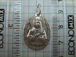 Серебряный Кулон Подвеска Образок Ладанка Богородица Умиление Серебро 925 проба 765 фото 3