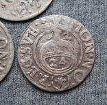 1/24 талера 1600-х годов. Густав Адольф. Швеция и Эльбинг ( 3 штуки )., фото №6