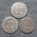 1/24 талера 1600-х годов. Густав Адольф. Швеция и Эльбинг ( 3 штуки )., фото №11