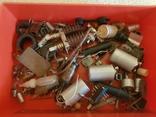 Радиодетали в коробке из под шахмат, фото №2