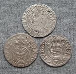 1/24 талера 1600-х годов. Густав Адольф. Эльбинг ( 3 штуки )., фото №2