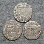 1/24 талера 1600-х годов. Густав Адольф. Эльбинг ( 3 штуки )., фото №3