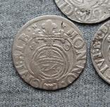 1/24 талера 1600-х годов. Густав Адольф. Эльбинг ( 3 штуки )., фото №4