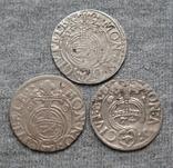 1/24 талера 1600-х годов. Густав Адольф. Эльбинг ( 3 штуки )., фото №10