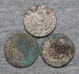 Аномальные полтораки 1600-х годов. Гетьманские полтораки ( 3 штуки )., фото №2