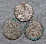 Аномальные полтораки 1600-х годов. Гетьманские полтораки ( 3 штуки )., фото №3